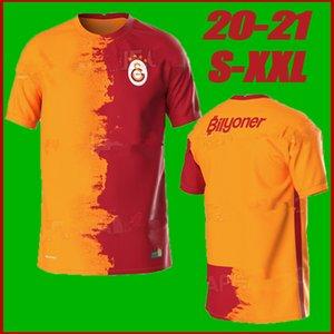 20 21 Galatasaray Soccer Jerseys 2020 2021 GOMIS LINNES CIGERCI BELHANDA FERNANDO FEGHOULI DONK Home Away Football Shirts