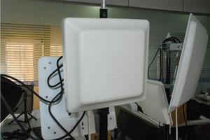 Lecteur de cartes RFID UHF longue portée, lecteur UHF intégratif 6m, antenne 8dbi RS232 / RS485 / Wiegand Read 6M