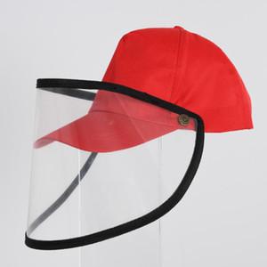 Portátil Anti-cuspir protecção Chapéus tampa anti-poeira Outdoor Fisherman Cap removível Duck Tongue Anti-Fog capa protetora