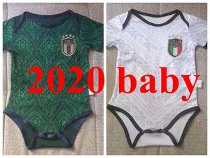 boyut 9-12 BABY 2020 italya üçüncü futbol formaları Italia Kupası 20 21 Itália maglie da Verratti Jorginho yetişkin seti formalarını