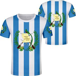 Гватемала футболка diy free custom name number gtm футболка национальный флаг страна гватемальский испанский колледж печать фото gt Одежда