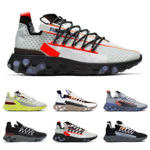 nike Chegada nova React WR ISPA homens mulheres correndo sapatos Fantasma Aqua Lobo Cinza platina volt cimeira branco mens trainer moda sports sneakers