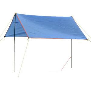 Tenda sostituzione Parasole palo di sostegno Tenda Frames Kit tenda di portello Asta di Supporto con sacchetto di immagazzinaggio per escursione di campeggio esterna di viaggio