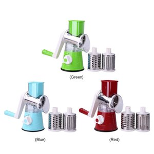 Manual Vegetable Cutter Slicer Multifunctional Round Mandoline Slicer Potato Cheese Carrot Grater Kitchen Gadgets Accessories