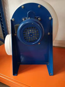 Lab Ventilation Centrifugal Blower PE Fuming Exhaust Fan for Laboratory Fume Hood Use