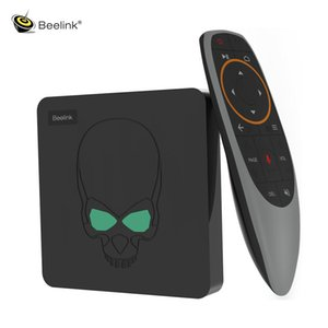 Beelink GT-King Smart Android TV Box Android 9.0 Amlogic S922X 4GB 64GB 2.4G Voice Control 5.8G WiFi 1000Mbps LAN Set-Top Box