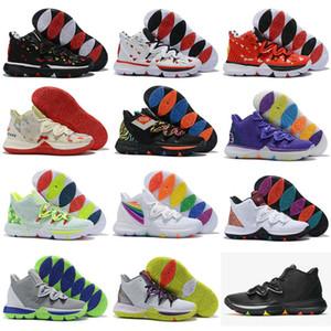 고품질 2019 새로운 도착 망 Bandulu x Kyrie 5 Tvpe 3 EP 저렴한 농구 신발 5s 부활절 데이 럭셔리 디자이너 스니커즈