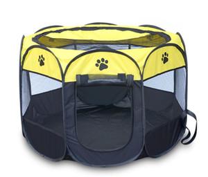 애완 동물 Ference 휴대용 접는 애완 동물 캐리어 텐트 Playpen 강아지 집 다기능 케이지 강아지 asy 작업 통기성 고양이 텐트