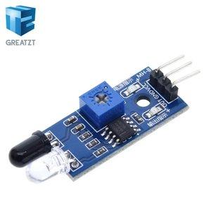 Obstáculo sensores 1PCS GREATZT IR Infrared Avoidance Módulo Sensor para Car Robot 3 fios Reflexivo fotoelétrico New Porcelain