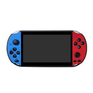 X12 زائد يده ريترو لعبة وحدة التحكم 5.1 بوصة 7.0 بوصة شاشة IPS 8GB لعبة فيديو لاعب لFC / GBA / NES لعبة