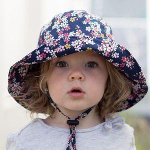 Children's bucket bucket 2020 summer sun male and female baby beach hat fisherman's hat