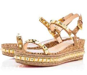 Femmes Vente-Été chaud Chaussures Wedges Pyraclou / Cataclou Luxury Cool Party Sandal Mariage Femme