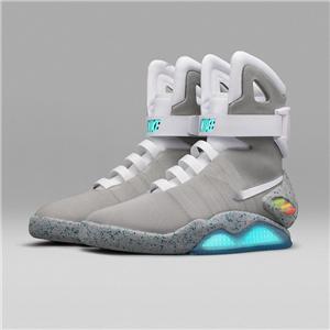 Nike Air Mag back to the Future 2019 nouveau retour en édition limitée de haute qualité Air Mag aux chaussures futurs guerrier LED chaussures hommes lumineux lumineux