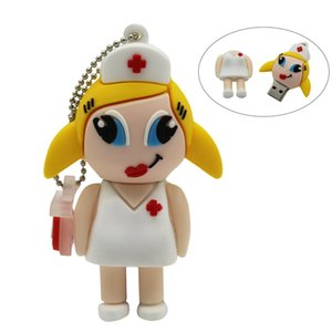 doctor Nurse Pendrive 4GB 8GB 16GB 32GB 64GB USB 2, 0 Pen Drive Stick memória drives USB
