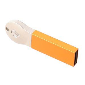 En alliage d'aluminium USB 2.0 Flash Drive Memory Stick de stockage de données d'or 256M