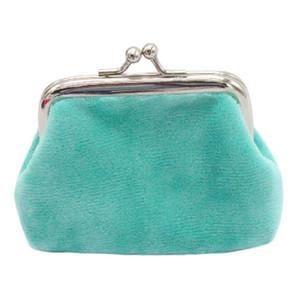 Womens Corduroy Coin Purse Mini Hasp Wallet Ladies Clutch Handbag Bag Pure Color Purse Wallet bolsa feminina