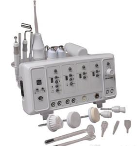 6 en 1 multifonctionnel machine de soins de la peau ultrasonique Massager facial haute fréquence ultrasonique Facial Brush Facial Cleanser Galvanic