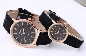 Free shipping 01 hot couple fashion casual student couple two-piece suit quartz watch set for men and women