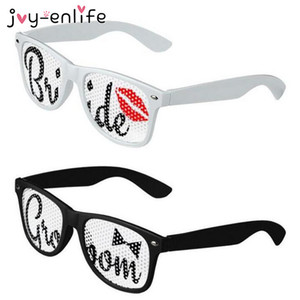 JOY-ENLIFE Люкс Themed Невеста и жених очки Люкс душ девичник Декор Свадьба Hen Night для вечеринок