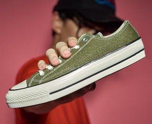 Низкий Chuck 70 Обувь High Top 1970s Обувь Дешевые на продажу Outlet магазин Получить Унисекс обуви Мода спортивные кроссовки для мужчин женщин тапки ботинок