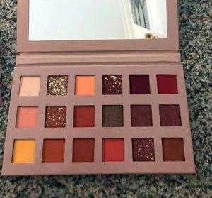 HOT beauté maquillage nouvelle palette 18 couleurs EYESHADOW palette Matte Shimmer Haute Qualité DHL Livraison gratuite