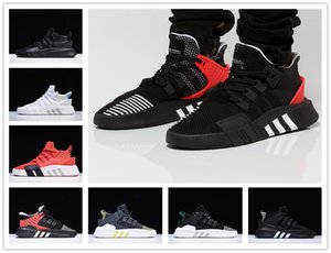 Homens Apoio Tanning Atacado Moda EQT de sapatos de corrida baratos EQT ADV Almofada Designer Ladies Futuro 93 17 Tricolor Black White EQT Sneake