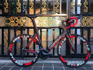 2019 Costelo speedcraft tam bisikleti karbon fiber yol bisiklet Bici completa bisiklet çerçevesi groupset tekerlek bicicleta bisiklet grubu DI2