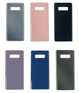 OEM New Grade A +++ Pas de préférence Rayé Batterie de logement porte Case Cover + Adhésif pour Samsung Galaxy Note 9 N960F Note5 Note 8 S8 s9