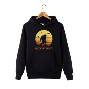 Dolcetto o hoodie Treat Halloween sweatershirt stile vintage con cappuccio zucca Candy regalo sweatershirt