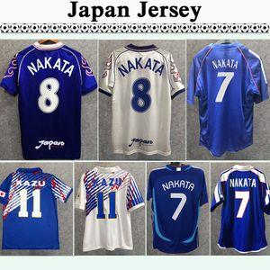 2006 Japan NAKATA Mens Retro Soccer Jerseys 1998 National Team SOMA AKITA OKANO KAWAGUCHI Home Away Football Shirt KAZU HATTORI Short Sleeve