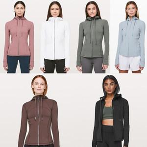 2020 diseñadorlululemonlulumarca lulu lu lu yoga para mujer limón P 009 deportes entrenamiento sin costuras de color rosa camo yogaworld chaqueta ja40fe #