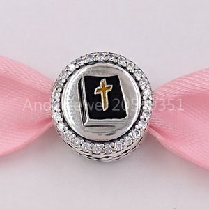 Authentic 925 Sterling Silver Beads Pandora Power Of Prayer Moments Charm Charms Fits European Pandora Style Jewelry Bracelets & Necklace 79