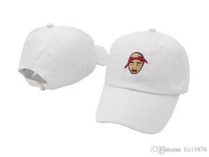 2019 marka moda Tupac Shakur beyzbol kapaklar 6 paneli Erkekler açık golf sporu Hiphop kadın strapback snapback şapka touca gorros