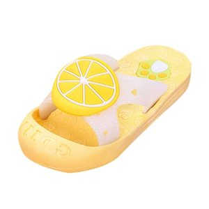 2020 Summer Lovely Children Shoes Breathable Kids Baby Sandals Cute Fruit Beach Slipper Durable Sandals Shoes Unisex