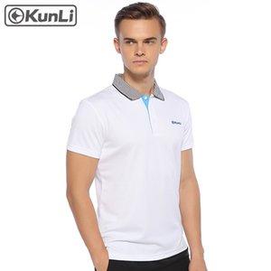 Kunli culturisme Hauts gymnases fitness T-shirt court hommes undershirt vêtements de sport de plein air vêtements de course T-shirt