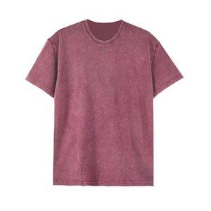 نيو تي شيرت ملابس رجالي بلايز أزياء المصمم البوصلة الصيف التي شيرت ملابس للرجال قميص حجم S-XL