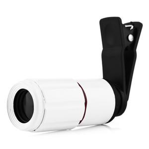 Mini Portable 8 x 18 Optical Zoom Telephoto Lens Mobile Phone Telescope