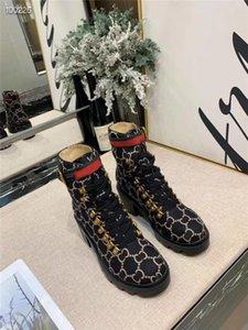 Bas prix des ventes marques populaires 2019 hiver nouveaux designers femmes botte de cheville de laine G bottes de mode de haute qualité dames livraison gratuite avec boîte