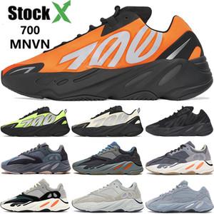 700 Dalga Runner kanye batı 3M Kravat boya ayakkabı runnning yansıtıcı Teal Turuncu Karbon Mavi mıknatıs erkek kadın tasarımcı spor ayakkabılar eğitmen çamurcun