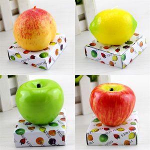 شكل التفاح فاكهة الشموع الفاكهة معطر شمعة رومانسية حزب الرئيسية زفاف حفلة عيد الميلاد الديكور شموع عيد الحب هدية
