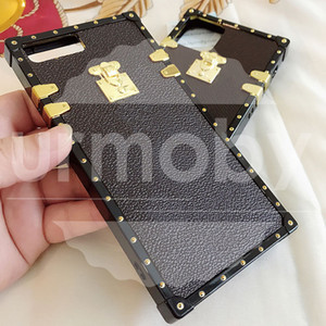 Designer Cases Moda Telefone PU couro para Samsung Galaxy S20 Ultra 8 9 10 PLUS NOTA 8 910 20 caso Dropshipping