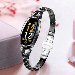 Bluetoot 스마트 시계 여성 Relogio 여성 시계 방수 Smartwatch 심장 박동 수면 스마트 알림 스포츠 시계 Android IOS