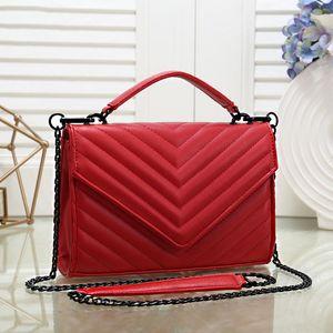 Livraison gratuite 2020 nouveaux sacs à main de haute qualité des femmes sacs à main beau petit sac à chaîne rayé style européen sac à bandoulière