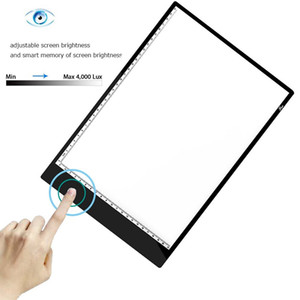 A4 LED Drawing Tablet Digital Graphics Pad USB LED Light Box Copy Board Electronic Art Graphic Painting Writing Table DLH372