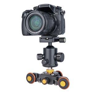 YELANGU моторизованный электрический Autodolly L3 Pully Car Rolling Track Slider для телефона и зеркальной камеры (черный)