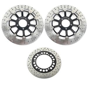 BIKINGBOY For GTR 1000 ZG 1000 94 95 96 97 98 99 2000 2001 2002 2003 2004 2005 2006 Front Rear Brake Discs Disks Rotors
