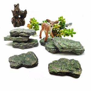 Colline artificielle Faux Stone Mountain Modèle Figurine Artisanat miniature fée Jardin Décoration Aquarium Ornement bricolage Accessoires