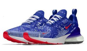 Nike Air Max 270 New Man Wome Chaussures de course Air 27C Graffiti Gradient Hococal Sport Chaussures de sport en plein air Chaussures de marche