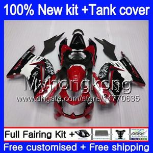 + réservoir pour KAWASAKI ZX250R EX250 ZX250R 08 09 10 11 12 201MY.14 Nouveau rouge cool EX250 ZX 250R EX 250 EX250R 2008 2009 2010 2011 2012 carénages