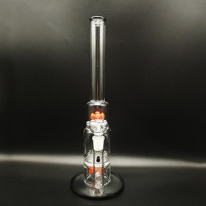 thick pyrex glass oil burner pipes big water bong pipe with 18mm female bowl straight dab rig tube and hookah filter